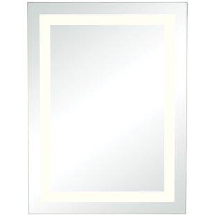 One Allium Way LED Rectangular Wall Mirror
