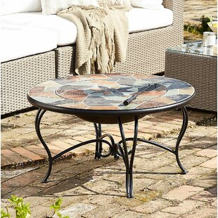 Carrie Steel Charcoal Fire Pit By Belfry Heating