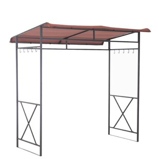 7 Ft. W x 5 Ft. D Steel Grill Gazebo by Sunjoy
