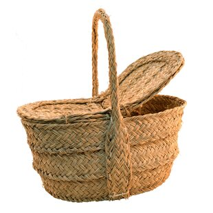 Oval Basket With Covers By August Grove