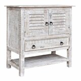 Dacoma Solid Wood 2 - Door Accent Cabinet
