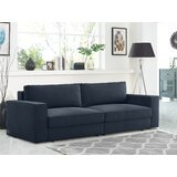 Queen 96 Cushion Back Convertible Sofa by Coddle