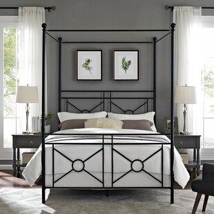 Berkey Queen Canopy Bed by Winston Porter