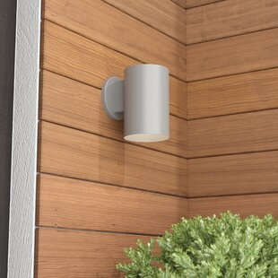 Brixham 1-Light Outdoor Sconce by Wade Logan