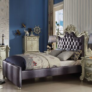 Astoria Grand Welty Upholstered Panel Bed