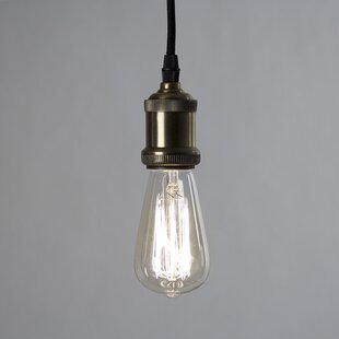 Zentique Ulrich 1-Light Bulb Pendant