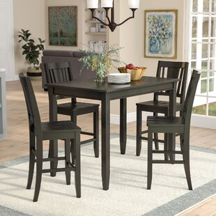 Lightner 5 Piece Dining Set Red Barrel Studio