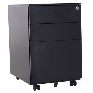 Reva Metal 3 Drawer Vertical Filing Cabinet