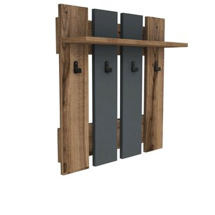 Cedrick Wall Mounted Coat Rack By Ebern Designs
