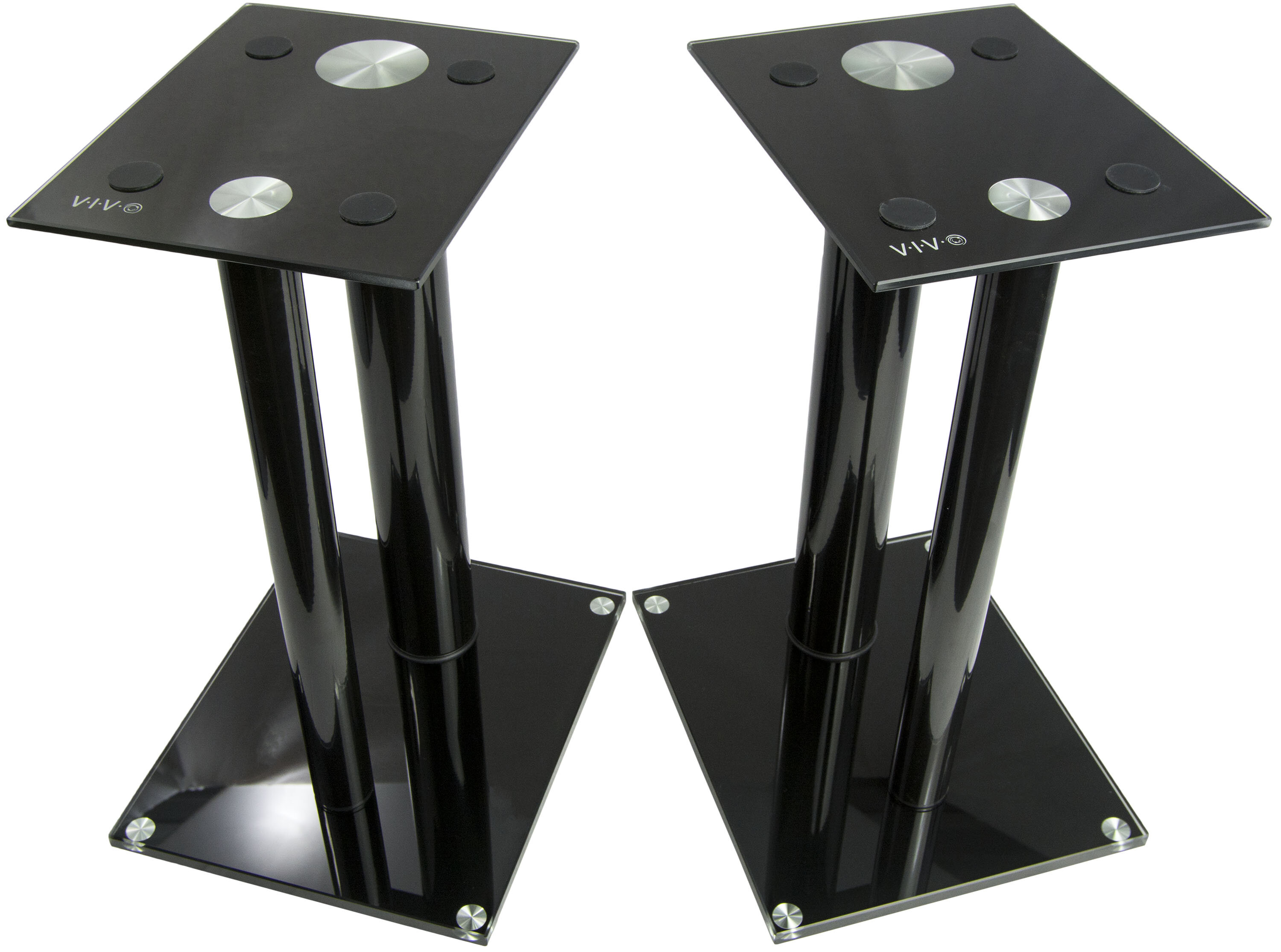 Vivo Premium Universal Floor 18 Fixed Height Speaker Stand
