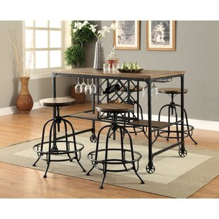 Find Colston Adjustable Height Swivel Bar Stool (Set of 2) by 17 Stories Reviews (2019) & Buyer's Guide