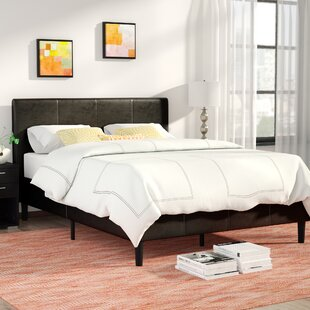 Free Shipping Clyde Upholstered Platform Bed