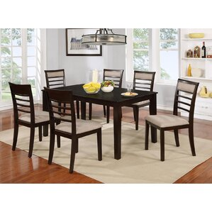Lenni Contemporary 7 Piece Dining Set (Set of 7) by Red Barrel Studio