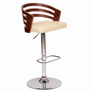 Faizan Swivel Adjustable Height Stool by Corrigan Studio