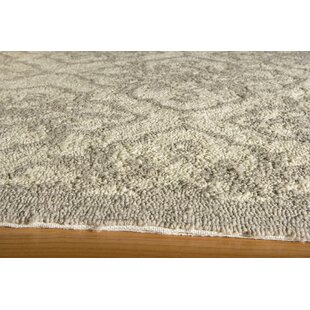 St James Hand-Hooked Taupe Indoor/Outdoor Area Rug