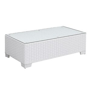 Mckenzie Aluminum Frame Rectangular Coffee Table