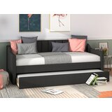 Bucoli Twin Daybed with Trundle by Everly Quinn