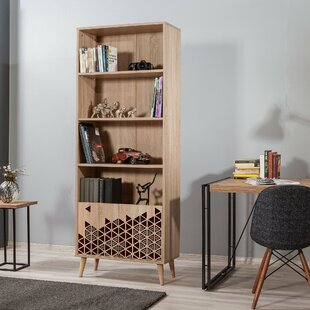 Edgecomb Bookcase By World Menagerie
