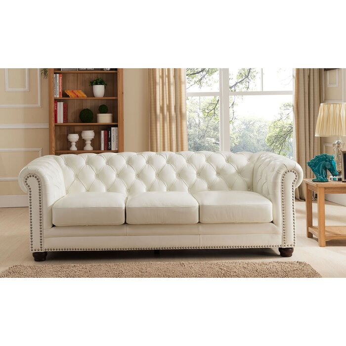 Nashville Leather Chesterfield Sofa