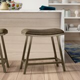 Proffitt Adjustable Height Bar Stool by Latitude Run