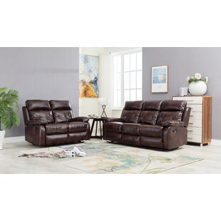 Purchase Palmer Square 2 Piece Reclining Living Room Set by Red Barrel Studio Reviews (2019) & Buyer's Guide