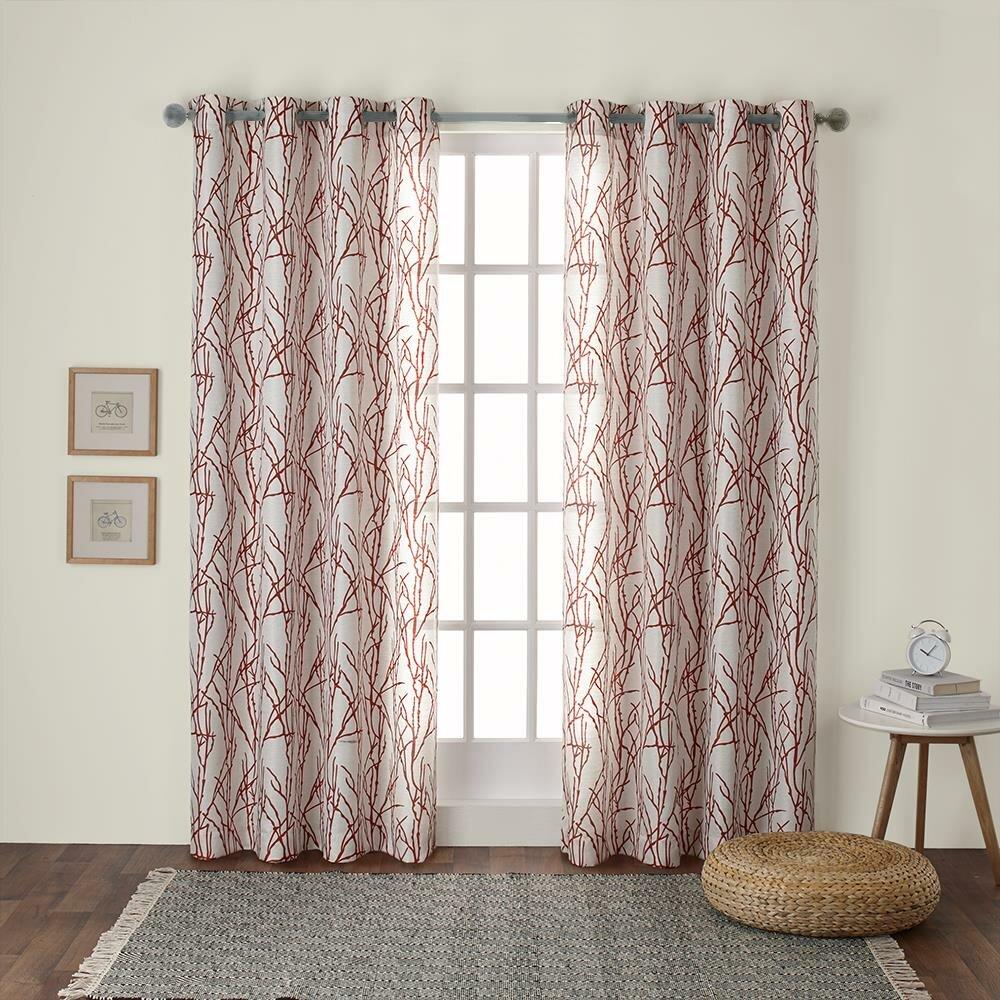 Modern Farmhouse Curtains Drapes You Ll Love In 2020 Wayfair