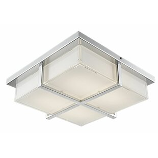 Radionic Hi Tech Heather 1-Light Flush Mount