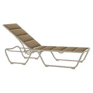 Millennia Padded Sling Reclining Chaise Lounge