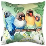 Donohoe Flock Together Animal Throw Pillow