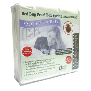 Bed Bug Proof Box Spring Encasement Hypoallergenic Mattress Protector by Protect-A-Bed