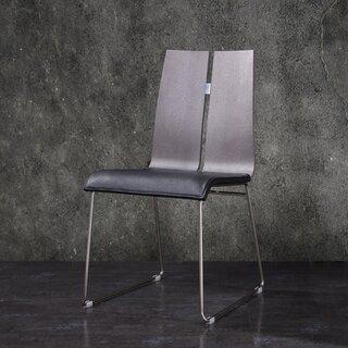 Alydar Upholstered Side Chair in Chrome (Set of 2) by Orren Ellis SKU:AC273135 Details