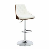 Abiyah Swivel Adjustable Height Bar Stool by Latitude Run