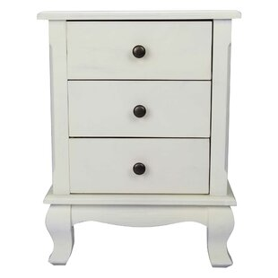 Stevensville 3 Drawer Nightstand