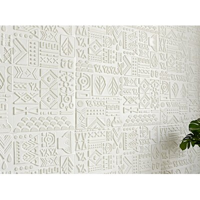 World Menagerie Chidester Tile Diamond Snowflake Victorian Vintage Vinyl Non Woven 33 L X 42 W 3d Embossed Wallpaper Roll World Menagerie Color Gray From Wayfair North America Sportspyder