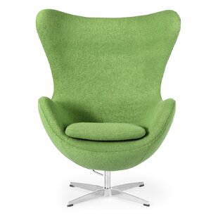 Green Wingback Accent Chairs Youu0027ll Love | Wayfair