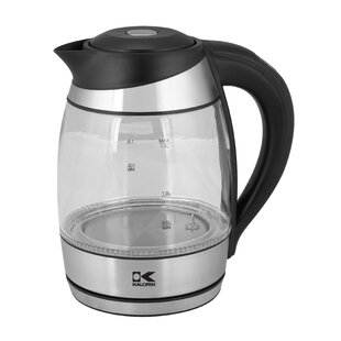1.8-qt. Glass Electric Tea Kettle