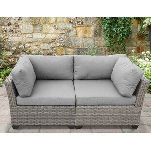 Monterey Patio Loveseat with Cushions by TK Classics