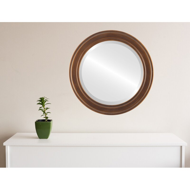 Charlton Home Wimbled Traditional Beveled Accent Mirror Wayfair