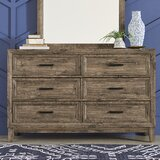 Rhoton 6 Drawer Double Dresser by Union Rustic