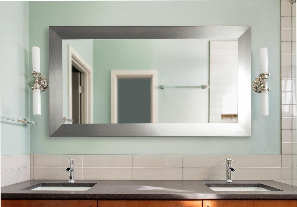 Rayne Mirrors Double Wide Vanity Wall Mirror Reviews Wayfair