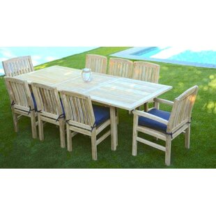 Trijaya Living Waterford 9 Piece Teak Din..