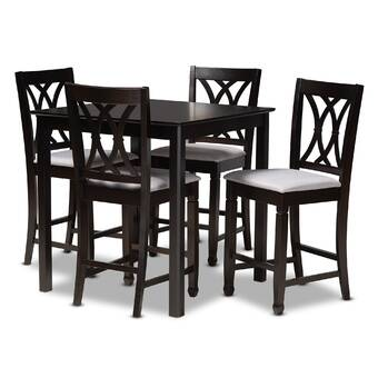 Orren Ellis Bryti 5 Piece Dining Set Wayfair