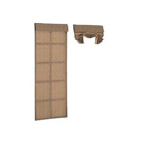 Key Largo Solid Semi Sheer Outdoor French Door Panel