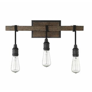 Gracie Oaks Wyckhoff 3-Light Vanity Light
