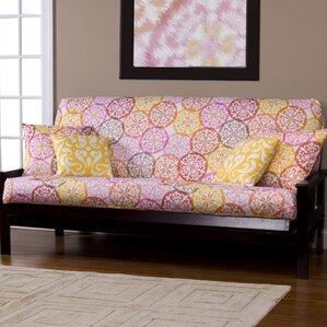 Appleton Zipper Box Cushion Futon Slipcover ..