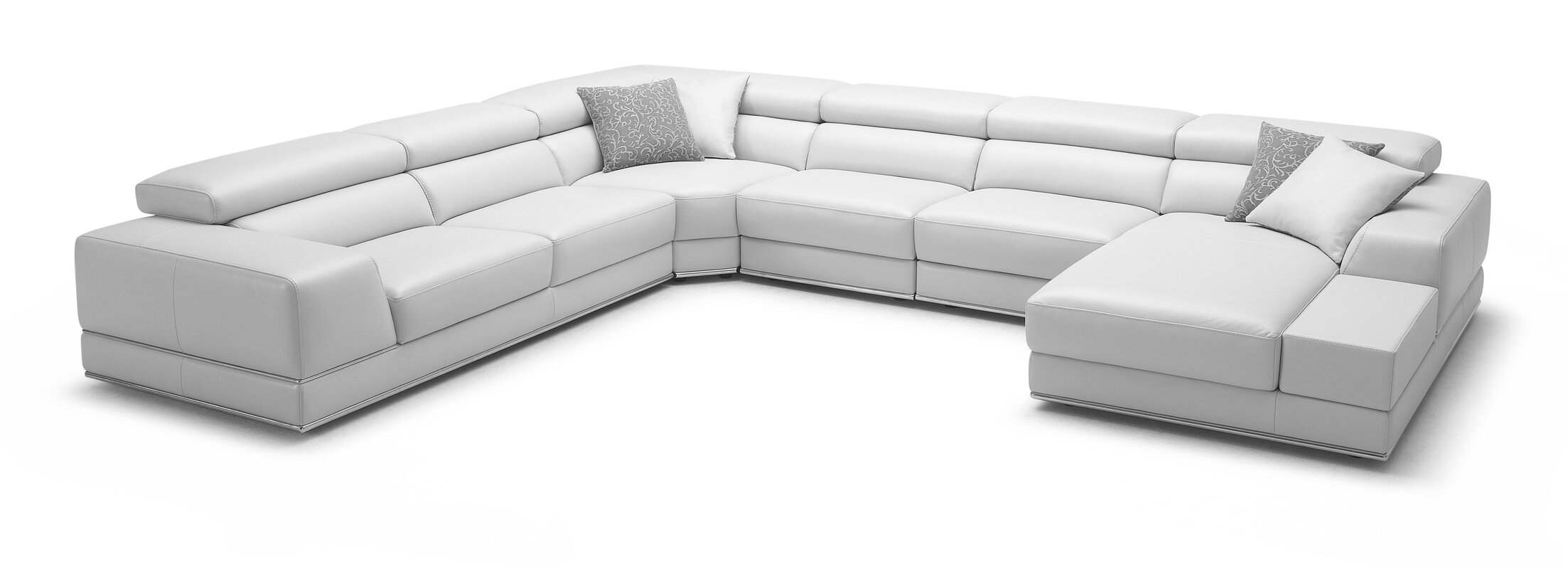 Leather Sectional  sc 1 st  AllModern : modani sectional - Sectionals, Sofas & Couches
