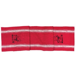 Rawls Stag Feed Sack Table Runner