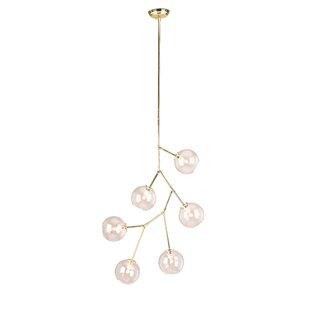 Mercury Row Doolin 6-Light Sputnik Chandelier