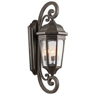 Flinders 3-Light Outdoor Wall Lantern