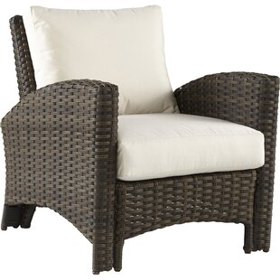 Spruill Panama Deep Seating Chair with Cushion